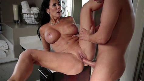 classy mom with big xxx boobs and stepson have incest sex