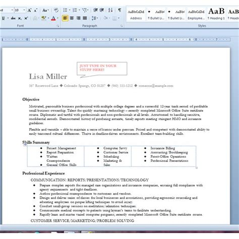 Word Processing Skills For Resume by Resume Sins What To Avoid On Your Resume