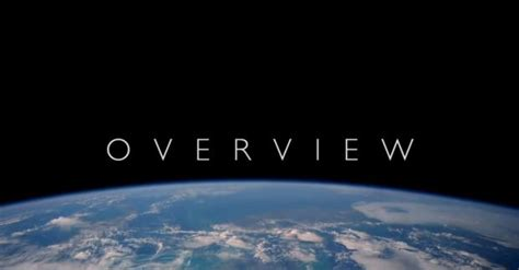 The Overview Effect   KarmaTube