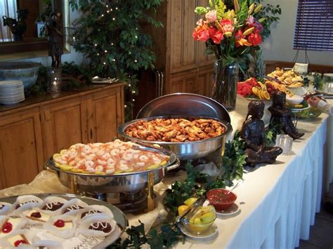christmas party food ideas buffet wedding centerpieces for tables decorating buffet table design idea modern home design