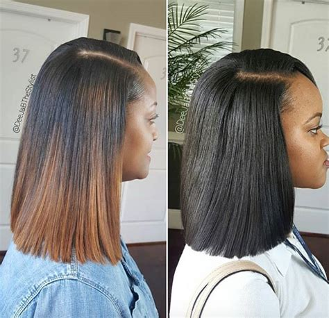 Hairstyles For Sew In Weaves by Amazing Sew In Vs Weave By Deejabthestylist Black