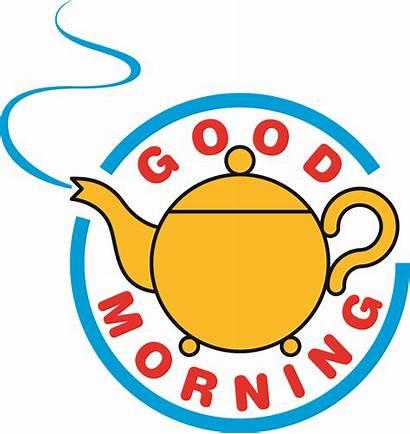 Morning Clip Clipart Cartoon Breakfast Sunday Cliparts