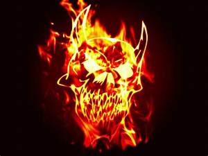 Fire Skull Backgrounds | wallpaper, wallpaper hd ...