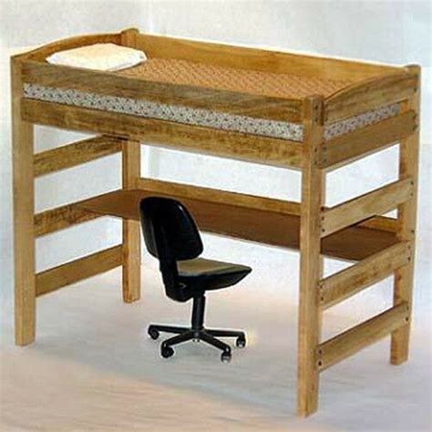 twin loft bunk bed woodworking furniture plans save