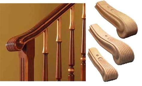 corrimano in legno per scale riccio per corrimano