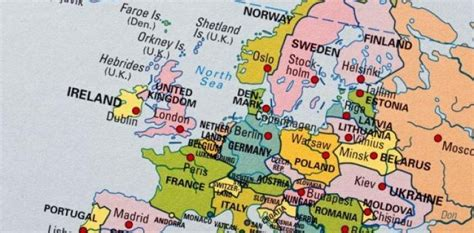 Eiropas Kartes - Foto Kolekcija