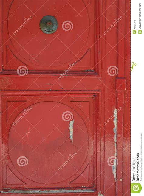 rustic red front door royalty  stock image image