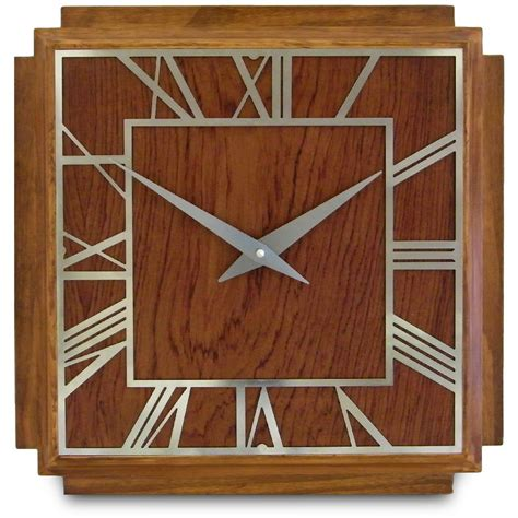 1930's Art Deco Wall Clock 36cm