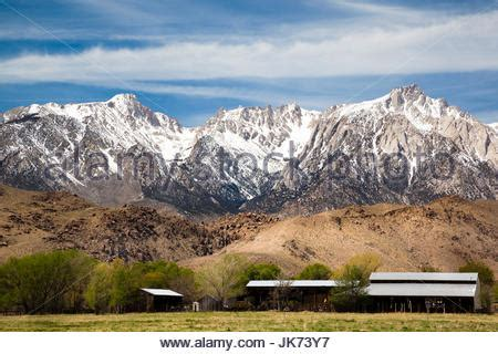 Landscape Lone Pine California Stock Photo Royalty