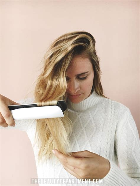 hair styles curls 15 best ideas about flat iron waves on flat 7643