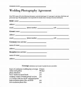 wedding contract template 24 download free documents With wedding photographer contract tips