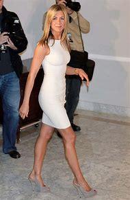 Jennifer Aniston White Dresses