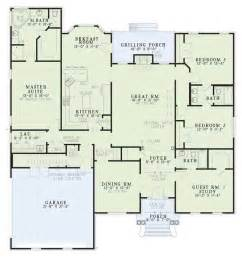 floor plan southern plan 2 486 square 4 bedrooms 3 bathrooms 110 00573