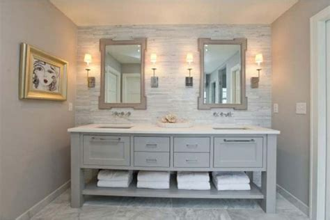 grey bathroom vanity  photo bathroom designs ideas