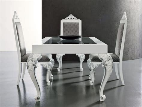 chaise de salle  manger style baroque