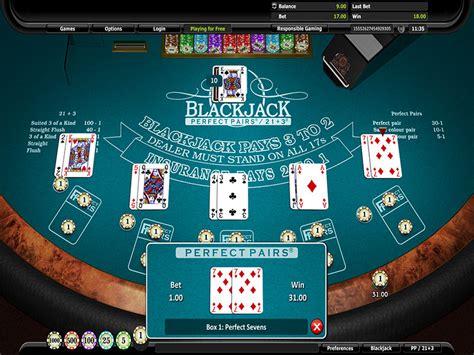 Play Blackjack Perfect Pairs®21+3®  Play Now On Bingo Extra