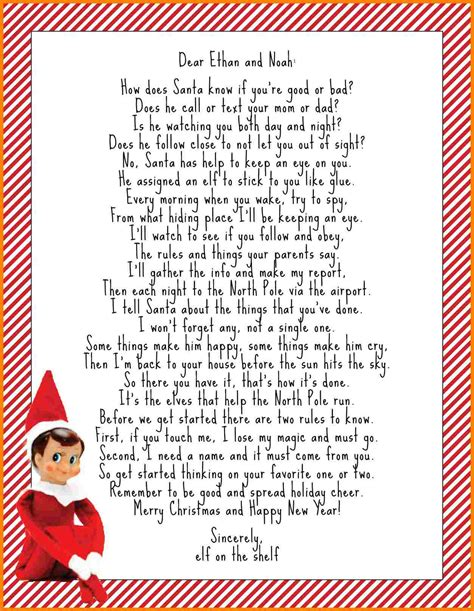 elf   shelf introduction letter introduction letter