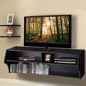 "Giantex 48.5"" Wall Mounted Audio/Video TV Stands Modern ...  Tv"
