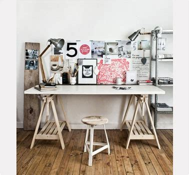 faire bureau soi meme bureau style loft à faire soi même