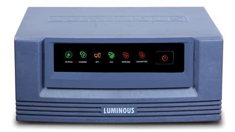 LUMINOUS ECOVOLT 850 PURE SINE WAVE INVERTER - Reviews ...