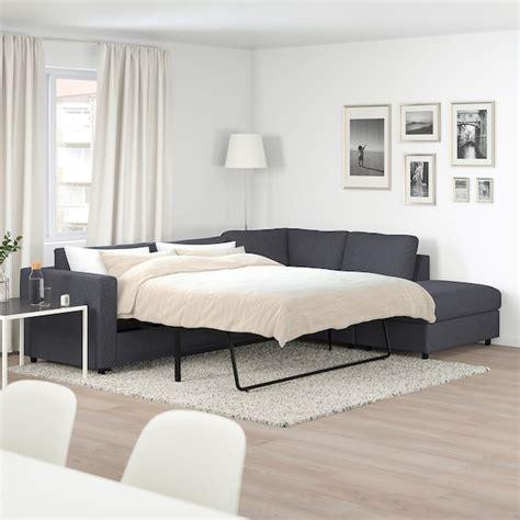vimle corner sofa bed  seat  open  gunnared
