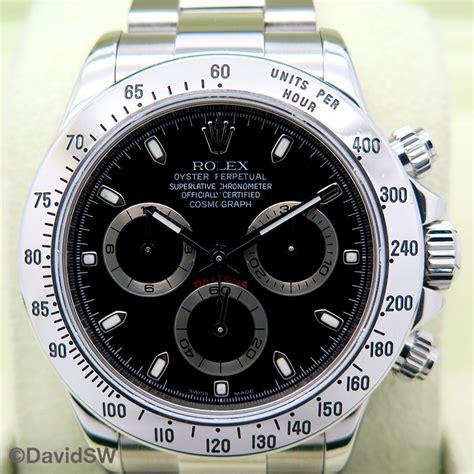 Rolex 116520 Cosmograph Daytona with Black Dial | DavidSW