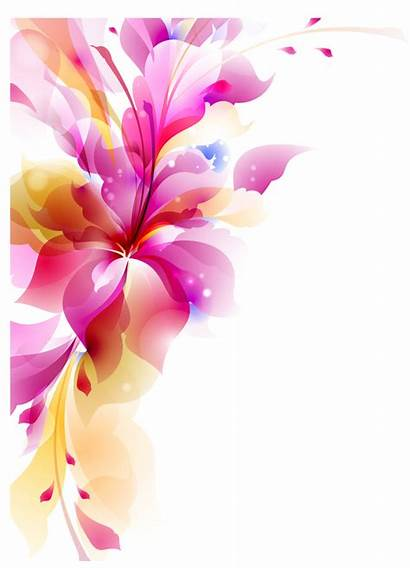 Vector Transparent Flowers Flower Abstract Vectors Floral