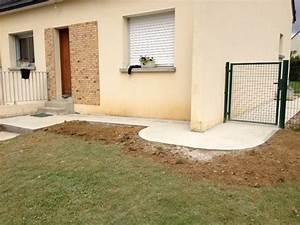 amenagements exterieurs rennes clotures soubassements murs With creation allee de jardin 17 terrasses les artisans du jardin