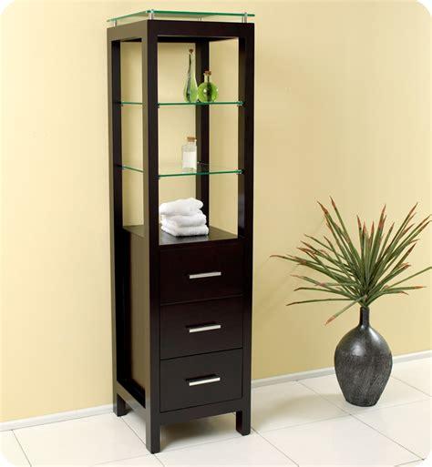 bathroom linen side cabinet fresca fst1008es espresso bathroom linen side cabinet with