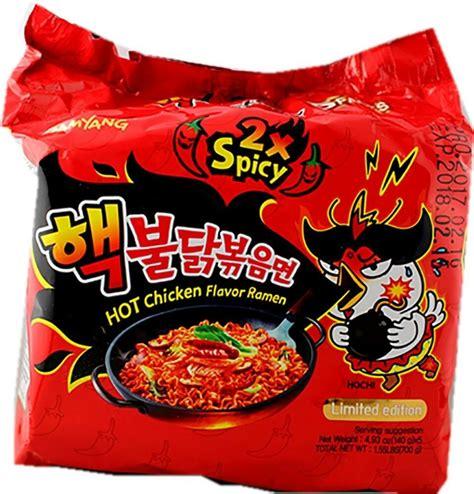 samyang korea noodle 2x spicy challenge chicken