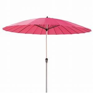 La Maison Du Parasol : sonnenschirm aus stoff und aluminium fuchsia papaye ~ Dailycaller-alerts.com Idées de Décoration