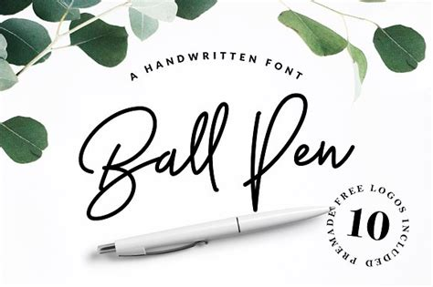 ball  handwritten font ifontsxyz