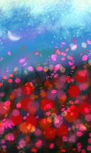ipad wallpaper(by app) | can't sleep night,I paint this ...