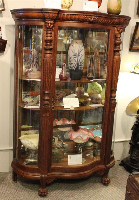 antique curio cabinets bargain s antiques 187 archive antique curved