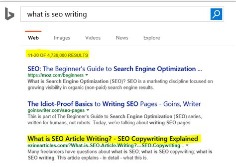 what is seo writing writing seo content 5 ways learning how to do it can