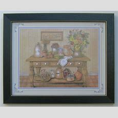 Country Kitchen Picture Framed Country Picture Print