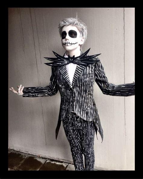 son albert  jack skellington diy costume