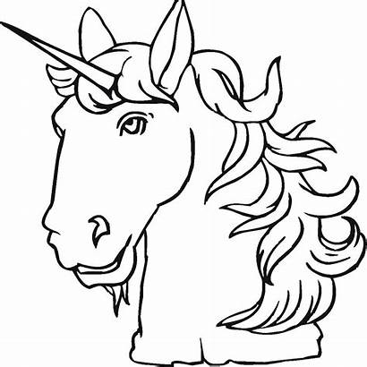 Coloring Pages Unicorn Mystical Creatures Creature Mythical