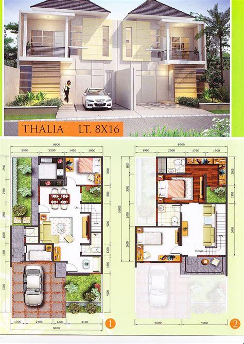 gambar desain rumah ukuran tanah  rumah zee