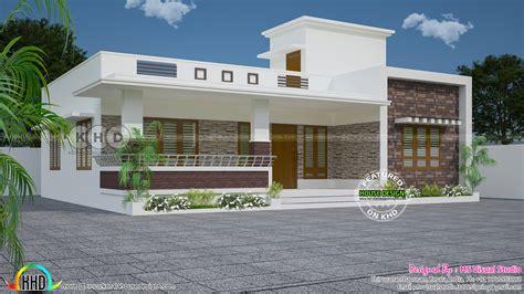 bedroom flat roof modern  floor kerala home kerala
