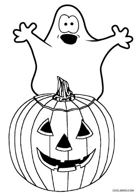 printable ghost coloring pages  kids coolbkids