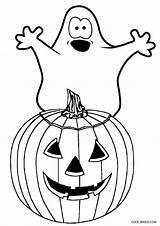 Coloring Halloween Ghost Pages Face Printable Drawing Cool2bkids Colouring Ghosts Template Getcolorings Getdrawings Pirate sketch template