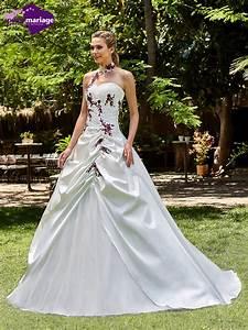 Robe De Mariée Romantique : robe de mari e cassis robe de mari e romantique point ~ Nature-et-papiers.com Idées de Décoration