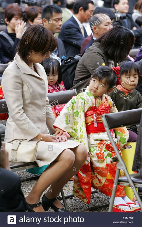 Japanese Mother And Daughter Exchange A Loving Glance