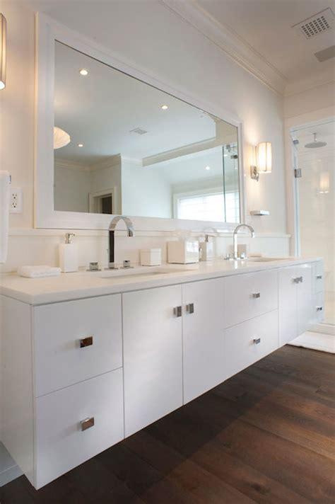 floating washstand modern bathroom east  country
