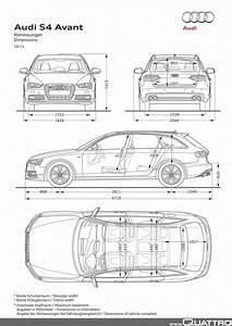 Dimension Audi A4 Avant : audi s4 avant abmessungen quattroworld ~ Medecine-chirurgie-esthetiques.com Avis de Voitures