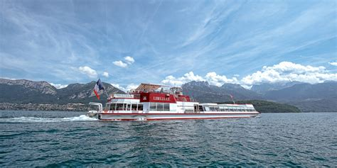 Boat Service Lake Annecy by Circuit Omnibus 2 Heures Compagnie Des Bateaux Du Lac