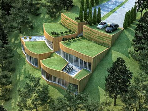 Home Design Ecological Ideas by Sustainable Architecture Brings You This Real Green Eco