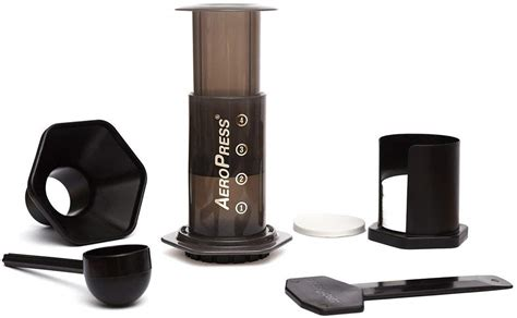 Because of the lower temperature and short brew time, the acid level of the brew is much lower than conventional brewers. Aeropress coffee maker review   Cyclist