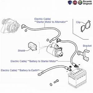 Fiat Punto 1 3 Mjd 90hp  Battery Cables